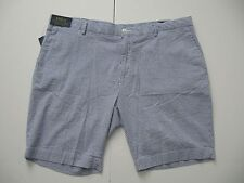 POLO RALPH LAUREN Men's Stretch Classic Fit Flat Front Seersucker Shorts 42