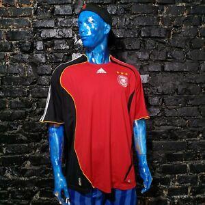 Germany Team Jersey Away football shirt 2006-2008 Adidas 066897 Mens SZ 2XL UA1