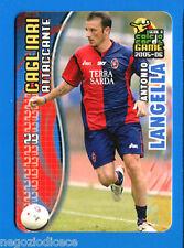 [GCG] CALCIO CARDS GAME 2005-06 - Figurina-Sticker n. 20 - LANGELLA - CAGLIARI