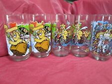 LOT OF [5] MC DONALD'S THE GREAT MUPPET CAPER  VINTAGE COLLECTOR GLASSES