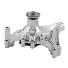 Tuff Stuff Water Pump 1461NB; SuperCool Chrome Cast Iron for Chevy 396-454 BBC