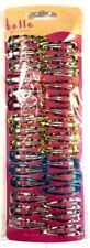 New 30 Pack Hair Clips Snaps Multicolour Hair Accessories glittered finish UK
