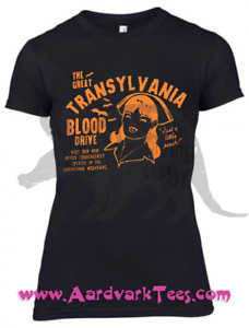 Just A Little Pinch!  Transylvania Blood Drive Kitschy Vempire Nurse Tee