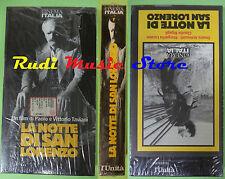 film VHS cartonata LA NOTTE DI SAN LORENZO sigillata L' UNITA'(F71*) no dvd