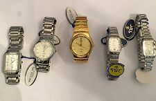 Lot of Ten Watches SWC & LOBOR Collection Half Men's & Half Women (All Working)