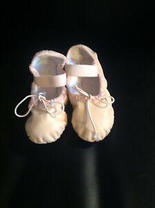 Girl's Bloch dance ballet slipper flats shoes blush/pink size 9C