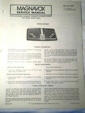 Magnavox Odyssey Game Service Manuals for Models BH7510 & BH7514