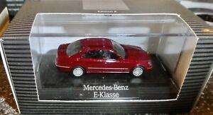 Wiking Mercedes-Benz E-Class Titanrot Metallic H0 1:87 Boxed HN2 Å