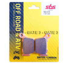 Husqvarna TE310 TE 310 2009-2014 SBS 791SI Sintered Competition Rear Brake Pads