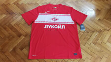 Spartak Moscow Soccer Jersey Russia Nike Football Shirt NEW XXL Спартак Москва