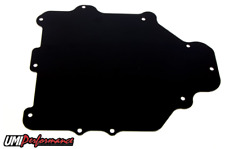 UMI Performance 1993-2002 Camaro Firebird HVAC Delete Panel, BLACK 2114