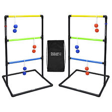 GoSports Indoor/Outdoor Ladder Toss Set (Includes 6 Rubber Bolos and Case)