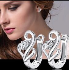 New Women Fashion Jewelry 925 Silver Plated Small Stud Earrings 20-4