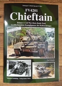 Tankograd British Special 9031: FV4201 Chieftain MBT Softback Book