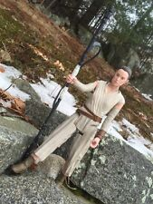 STAR WARS HERO SERIES REY (JAKKU) 30 CM THE FORCE AWAKENS  Disney Toys Hasbro.