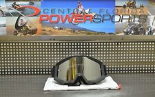 NEW 100% Accuri Defcon1 Motorcycle MX OffRoad Goggle w/ Silver Lens & Clear Lens