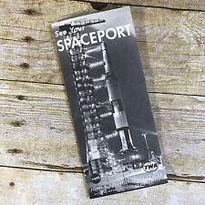Vintage John F Kennedy Space Center Brochure Nasa Cape Kennedy Travel Florida
