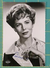 "Cornell Borchers 1925-2014 Signed Photo German Actress ""The Divided Heart"""