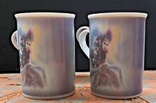Christl Vogl Fairy Coffee Mug Tea Cup Set Of 4 Valerie Pfeiffer Fantasy Mystical