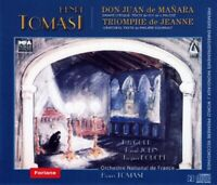 1721047 1665356 Audio Cd Henri Tomasi - Don Juan De Manara (2 Cd)