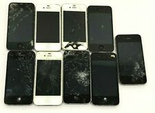 Apple iPhone 4/4s damaged broken for parts scrap lot of 9 AS IS  Read detail
