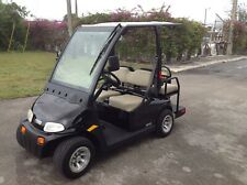 good black 2012 Ezgo 2five 4 passenger seat golf cart 48v street legal lsv