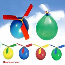 Colorful Balloon Helicopter Propeller Balloon Portable Toy For Educational Toy