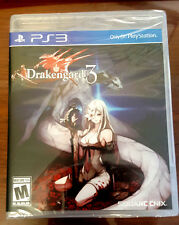 Drakengard 3 PS3 Game Square Enix Brand New  *Dispatched From Brisbane*