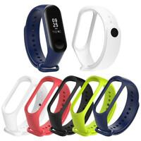 Replacement Silicone Smart Watch Strap Wristband Bracelet for Xiaomi Mi Band 3 4