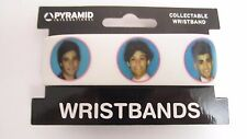 ONE Direction FACCE White Rubber Braccialetto NUOVO FREEPOST