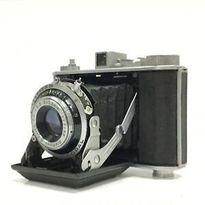 OLYMPUS 6 Six 6x6 6x4.5 Medium Format Folding Camera 75mm f3.5 - AS IS