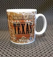 Starbucks 2000 Texas Mug Coffee Tea State No 28 Lone Star Longhorn Cowboy Oil