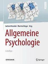 Allgemeine Psychologie (2016, Gebundene Ausgabe)