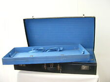 Alter Autokoffer, DRESDEN Koffer, Oldtimer, schwarz