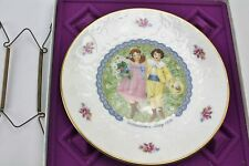 "Vintage Royal Doulton Valentine'S Day 1976 Collector Plate ""Happiness with You"""