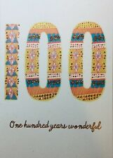 100 Year Old Birthday Card Hallmark Send The Very Best 100th Year Old