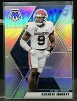 2020 Panini Mosaic Kenneth Murray Silver Prizm Rookie Card # 250 LA Chargers