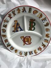 1994 Tiffany & Co ABC / Bear  Plate