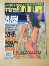 WOMEN'S FITNESS & BODYBUILDING muscle physique magazine #2/MELISSA MOK 7-96