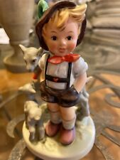 "Hummel Goebel Large German Figurine ""Little Goat Herder� #200/1 Tmk-5"
