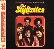 STYLISTICS * 55 Greatest Hits * NEW Sealed 3-CD Boxset * All Original Versions