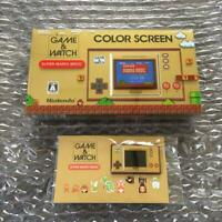 M Super Mario Bros Game & Watch Nintendo 35th Anniversary Japan Version F/S