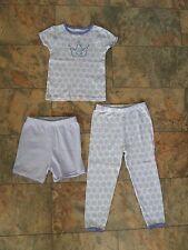 Pantalon fille 3 pièces CARTER'S Pyjama Set Age 3 violet Princesse de USA