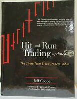 *New* HIT AND RUN TRADING The Short-Term Stock Trader's Bible Jeff Cooper