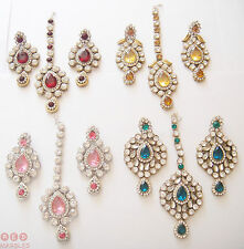 Crystal Earrings Indian Jewellery