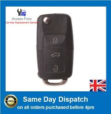 SEAT LEON TOLEDO 3 Button Remote Key Alarm Fob NEW 1J0959753DA/ HA