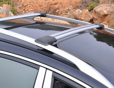Aerodynamic Roof Rack Cross Bar for Audi A6 Allroad Wagon 2006-18 Alloy Lockable