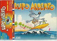 LUPO ALBERTO #  50- AGOSTO 1989 - GLENAT ITALIA- MACCHIA NERA-ORIGINALE