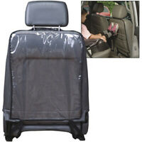 Black Auto Car Seat Protector Cover for Child Baby Kick Mat Protect Universal 1X