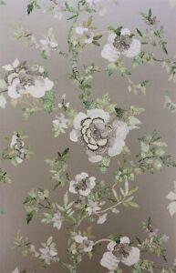 OSBORNE & LITTLE, UK Nina Campbell PERDANA Gilver Wallpaper / 13 Rolls Avail